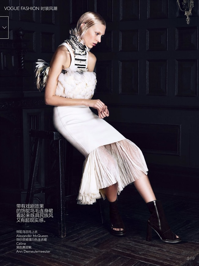 VOGUE CHINA Juliana Schurig in Hidden Cabinet by Lachlan Bailey. Ludivine Poiblanc, March 2014, www.imageamplified.com, Image Amplified (6)