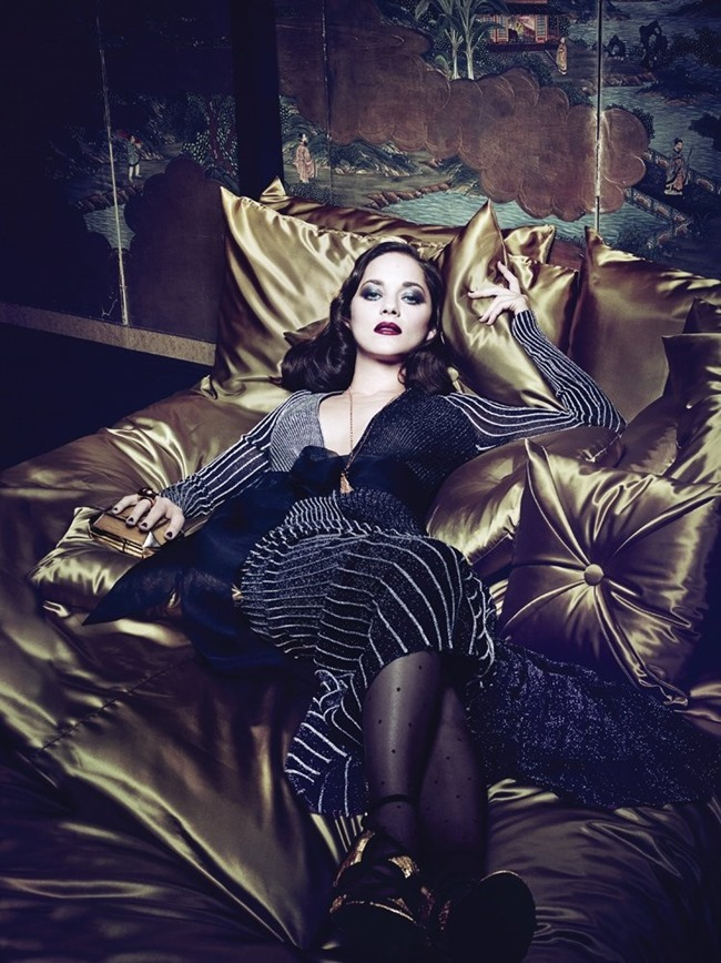 INTERVIEW MAGAZINE Marion Cotillard by Craig McDean. Karl Templer, March 2014, www.imageamplified.com, Image Amplified (8)