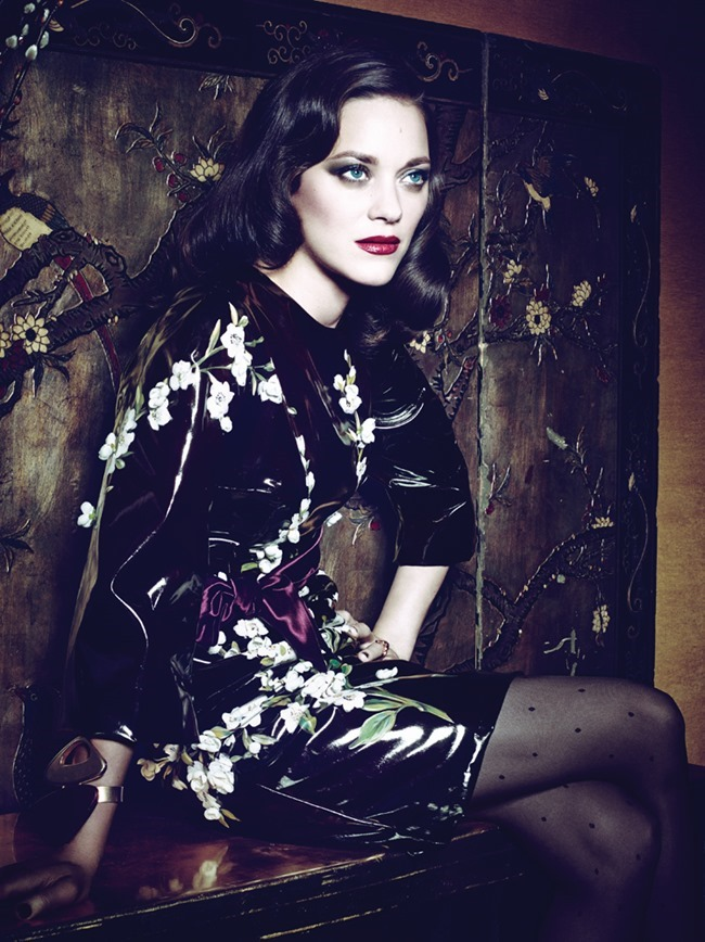 INTERVIEW MAGAZINE Marion Cotillard by Craig McDean. Karl Templer, March 2014, www.imageamplified.com, Image Amplified (3)