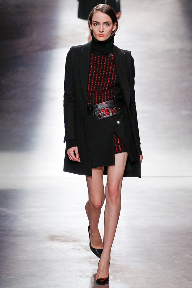 PARIS FASHION WEEK Anthony Vaccarello Fall 2014. www.imageamplified.com, Image Amplified (23)