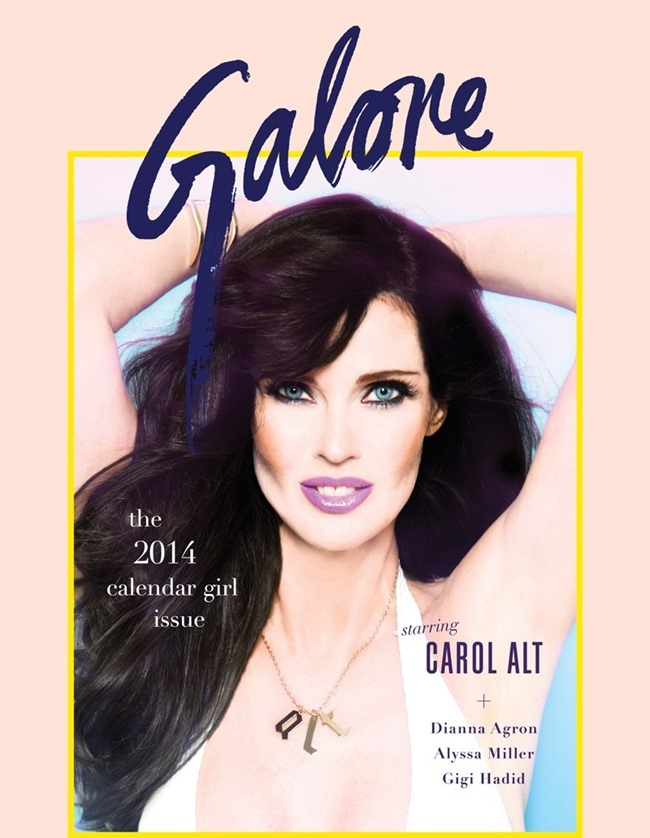 GLAORE MAGAZINE Carol Alt by Jacob Dekat. Spring 2014, www.imageamplified.com, Image Amplified (2)