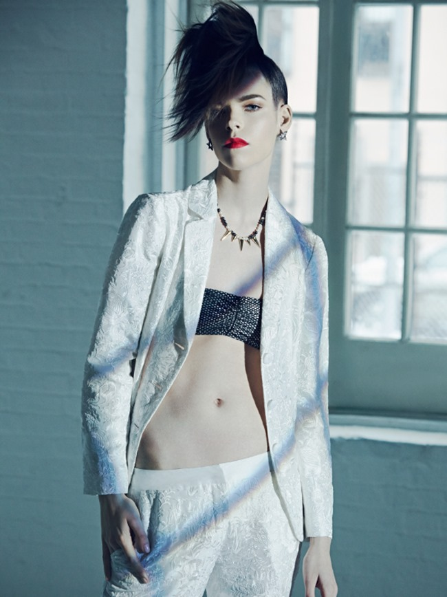 HARPER'S BAZAAR KOREA Meghan Collison by James Macari. April 2014, www.imageamplified.com, Image amplified (6)