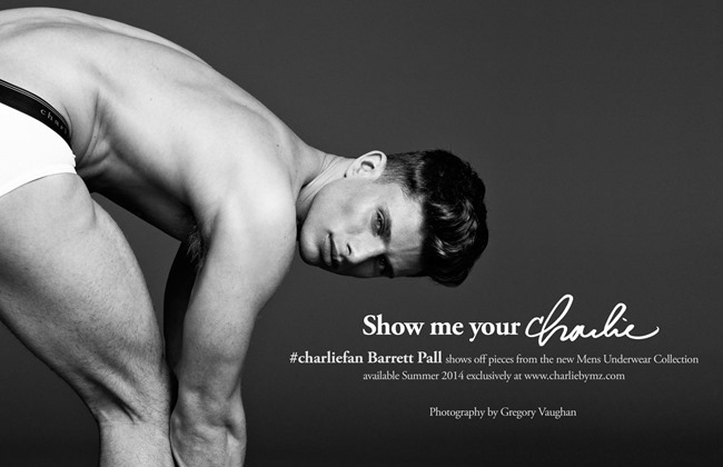 CAMPAIGN Show Me Your Charlie for Charlie by Matthew Zink by Greg Vaughan. Spring 2014, www.imageamplified.com, Image Amplified (1)