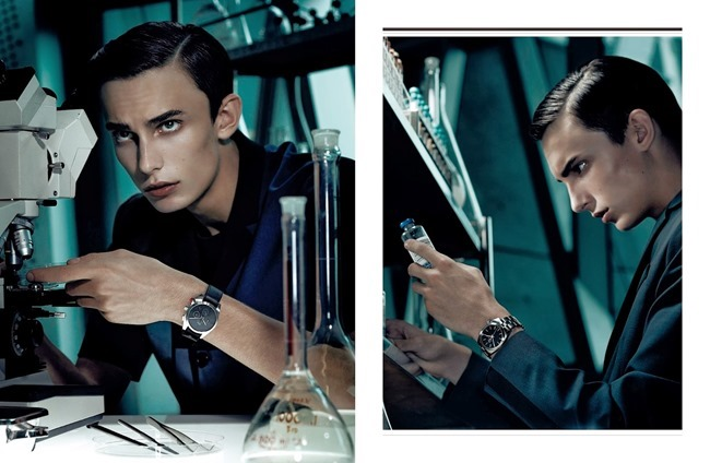 DIOR MAGAZINE Kyle Mobus in Lab by Gregory Harris. Tony Irvine, Spring 2014, www.imageamplified.com, Image Amplified (3)