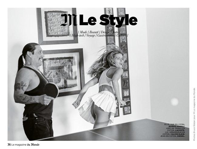 M LE MONDE Edita Vilkeviciute & Danny Trejo by Bruce Weber. Aleksandra Woronieck, March 2014, www.imageamplified.com, Image Amplified (17)