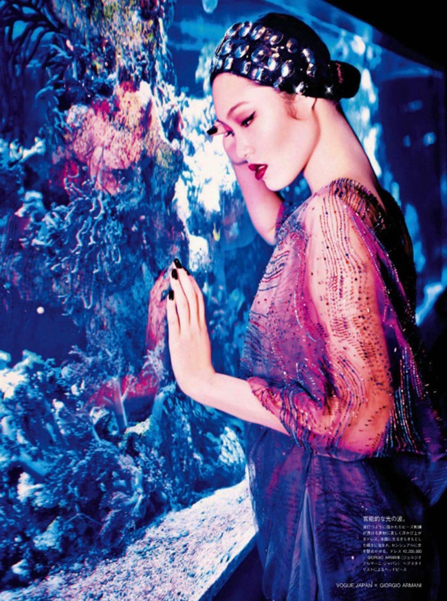VOGUE JAPAN Chiharu Okunugi in Beauty From Beneath The Sea by Ellen von Unwerth. Elisabeth Sulcer, April 2014, www.imageamplified.com, Image Amplified (6)