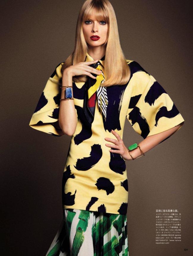 VOGUE JAPAN Style Has Many Faces by Daniele & Iango   Nasta Vojnovic. Giovanna Battaglia, April 2014, www.imageamplified.com, Image Amplified (8)