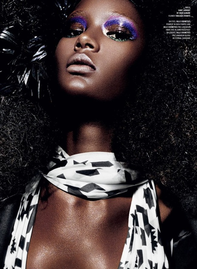 V MAGAZINE Ysaunny Brito in Who's the Boss by Daniel Sannwald. Patti Wilson, Spring 2014, www.imageamplified.com, Image Amplified (8)