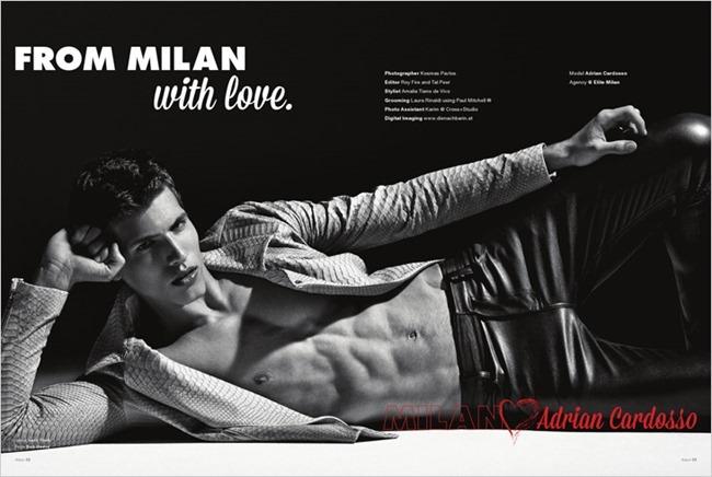ADON MAGAZINE Milan Loves by Kosmas Pavlos. Amalia Tiano, Spring 2014, www.imageamplified.com, Image amplified (1)