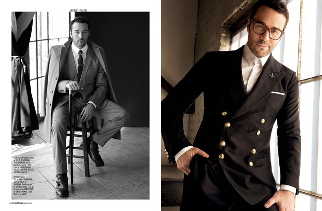 AUGUST MAN MAGAZINE Jeremy Piven in The Visceral Approach by Karl Simone. Dave Thomas, Spring 2014, www.imageamplified.com, Image Amplified (6)