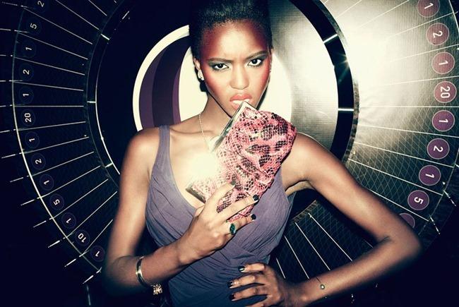 BERGDORF GOODMAN Alima Fofana in Wild Card by Arnaud Pyvka. Emma Sanchez, Resort 2014, www.imageamplified.com, Image Amplified (13)