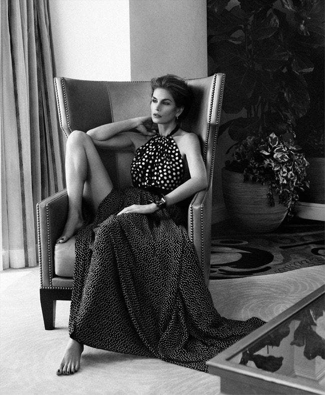 HARPER'S BAZAAR RUSSIA Cindy Crawford by Xavi Gordo. Karla Welch, March 2014, www.imageamplified.com, Image amplified (3)