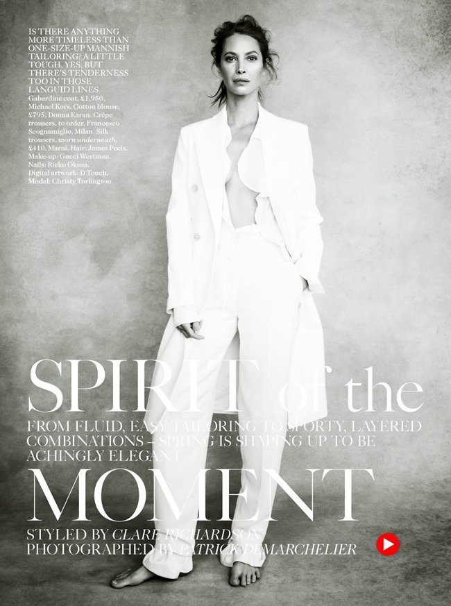 VOGUE UK Christy Turlington in Spirit Of The Moment by Patrick Demarchelier. Clare Richardson, April 2014, www.imageamplified.com, Image Amplified (1)