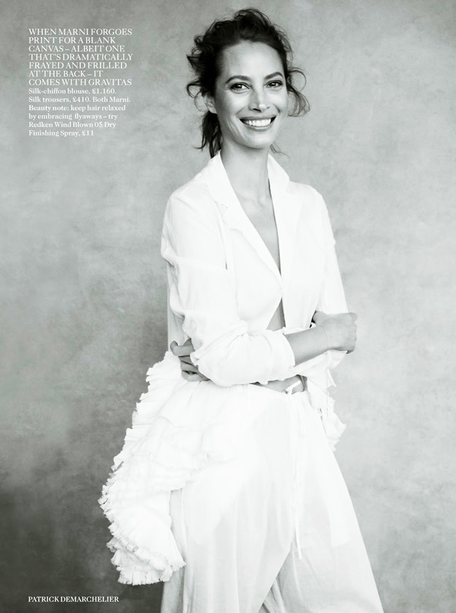 VOGUE UK Christy Turlington in Spirit Of The Moment by Patrick Demarchelier. Clare Richardson, April 2014, www.imageamplified.com, Image Amplified (4)