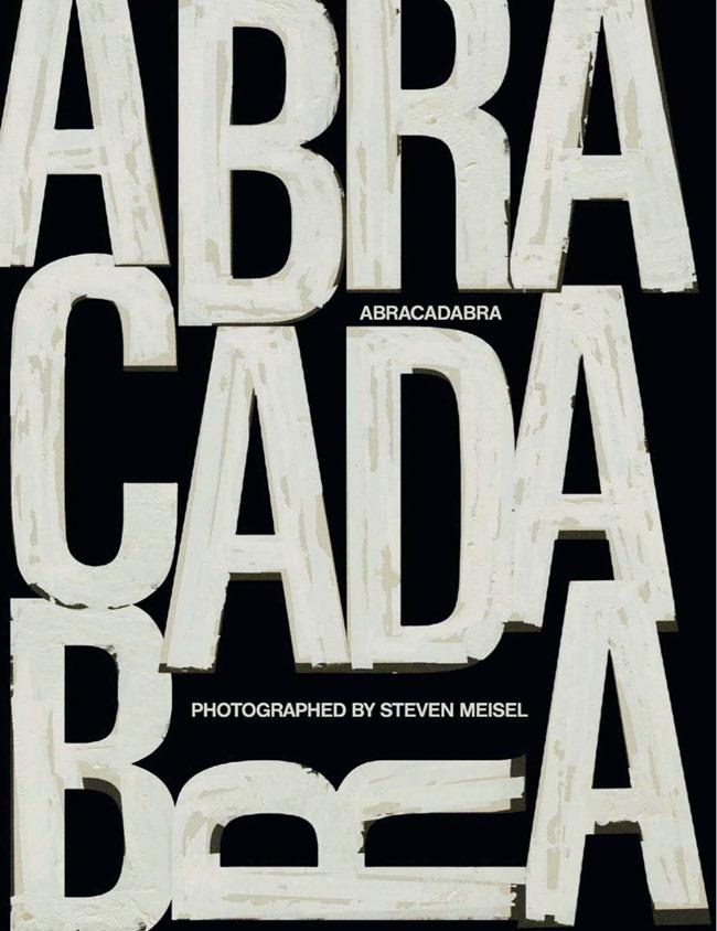 VOGUE ITALIA Saskia De Brauw in Abracadabra by Steven Meisel. Marie-Amelie Sauve, March 2014, www.imageamplified.com, Image Amplified (2)
