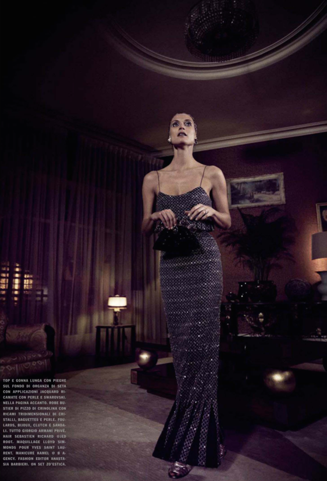 VOGUE ITALIAMalgosia Bela in High Allure by Yelena Yemchuk. Anastasia Barbieri, March 2014, www.imageamplified.com, Image Amplified (5)