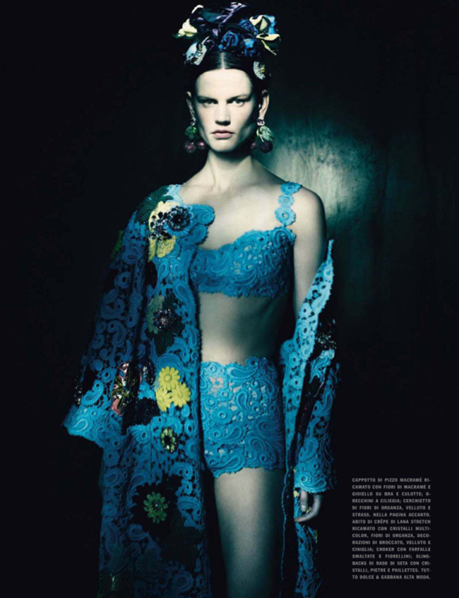 VOGUE ITALIA Saskia de Brauw in In The Couture Mood by Paolo Roversi. Julien D'Ys, March 2014, www.imageamplified.com, Image Amplified (3)