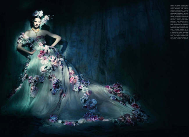 VOGUE ITALIA Saskia de Brauw in In The Couture Mood by Paolo Roversi. Julien D'Ys, March 2014, www.imageamplified.com, Image Amplified (5)