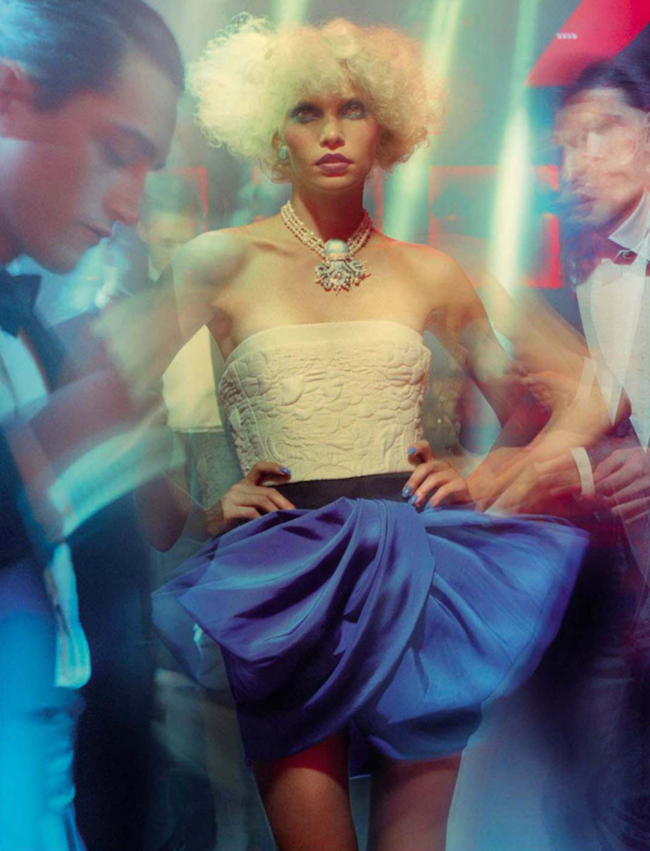 VOGUE ITALIA Aline Weber in A Dazzling Party by Miles Aldridge. Alice Gentilucci, March 2014, www.imageamplified.com, Image Amplified (4)