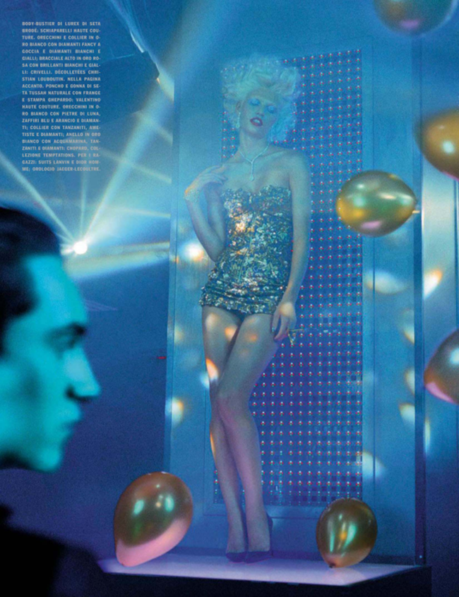 VOGUE ITALIA Aline Weber in A Dazzling Party by Miles Aldridge. Alice Gentilucci, March 2014, www.imageamplified.com, Image Amplified (7)
