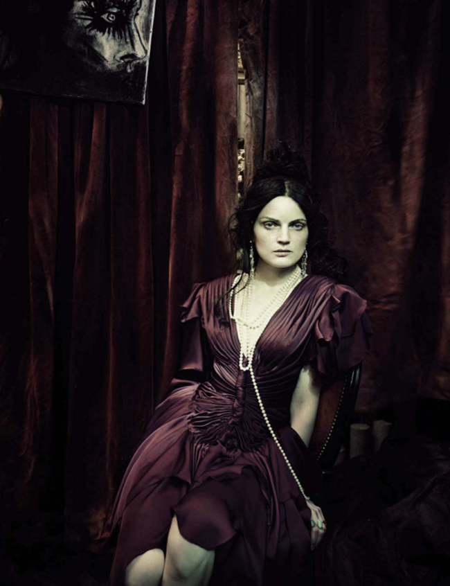 VOGUE ITALIA Guinever Van Seenus by Paolo Roversi. Julien D'Ys, March 2014, www.imageamplified.com, Image Amplified (14)