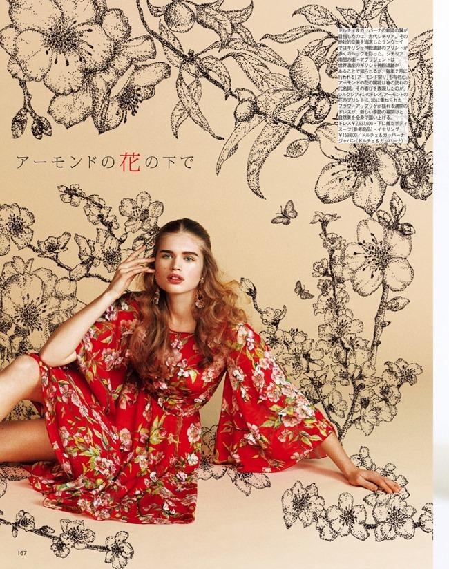 SPUR MAGAZINE Eva Klimkova & Ella Merryweather in Love Earth, Love Mode by Makoto Nakagawa. Miyuki Uesugi, April 2014, www.imageamplified.com, Image Amplified (12)