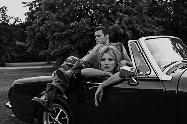 PONYSTEP MAGAZINE Kate Moss & Claude Simonon by Lasse Flode. Jimmy B. Kate, Wpring 2014, www.imageamplified.com, Image Amplified (7)
