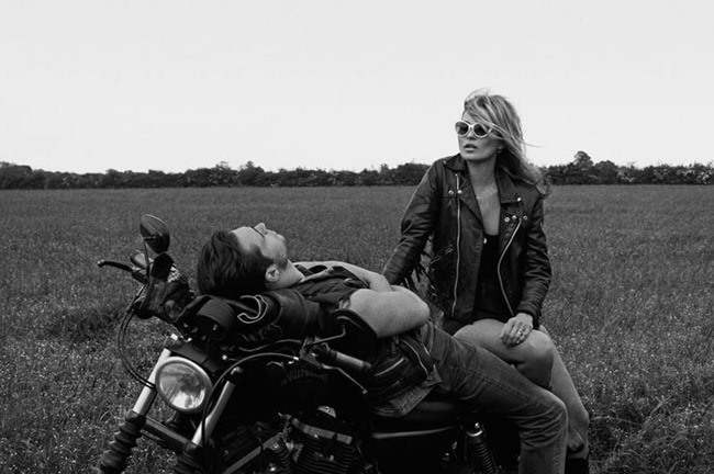 PONYSTEP MAGAZINE Kate Moss & Claude Simonon by Lasse Flode. Jimmy B. Kate, Wpring 2014, www.imageamplified.com, Image Amplified (9)