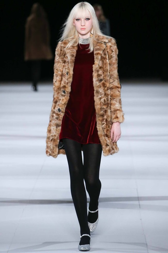 PARIS FASHION WEEK Saint Laurent RTW Fall 2014. www.imageamplified.com, Image Amplified (20)