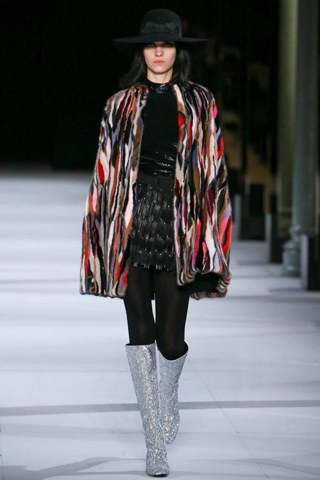 PARIS FASHION WEEK Saint Laurent RTW Fall 2014. www.imageamplified.com, Image Amplified (42)