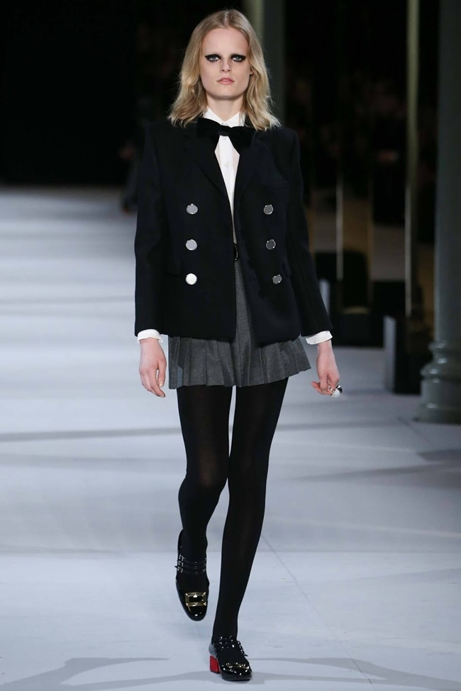PARIS FASHION WEEK Saint Laurent RTW Fall 2014. www.imageamplified.com, Image Amplified (52)