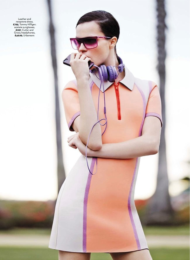 MARIE CLAIRE UK Egle Tvirbutaite in Fast-track by Michael Sanders. Arabella Greenhill, March 2014, www.imageamplified.com, Image Amplified (9)