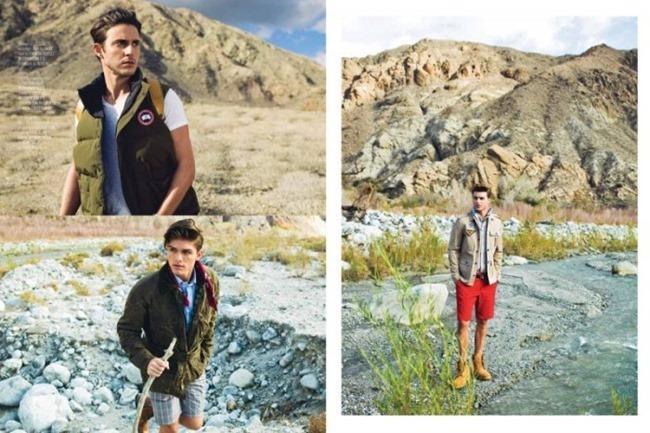 AUGUST MAN MAGAZINE Austin Victoria, Kelly Scheer & Nick Bellenbaum in Desert Paradise by Christian Rios. Amy Mach, Spring 2014, www.imageamplified.com, Image Amplified (4)