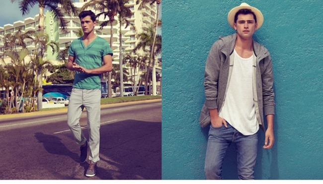 CAMPAIGN Sean O'Pry in Casual Tailoring for H&M Spring 2014. www.imageamplified.com, Image Amplified (3)