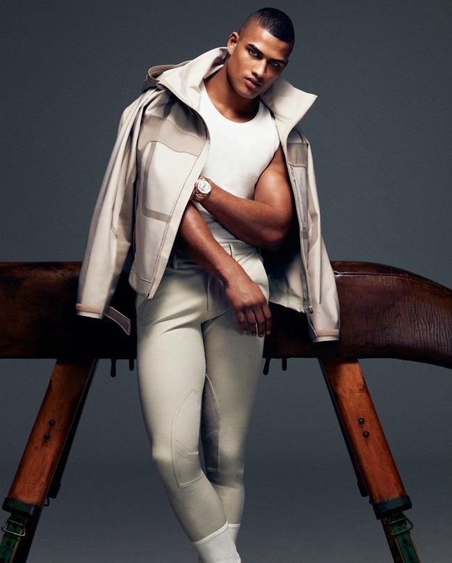 HOW TO SPEND IT MAGAZINE Edward Wilding in Sportswear Inspired Menswear by Damian Foxe. Spring 2014, www.imageamplified.com, Image Amplified (7)