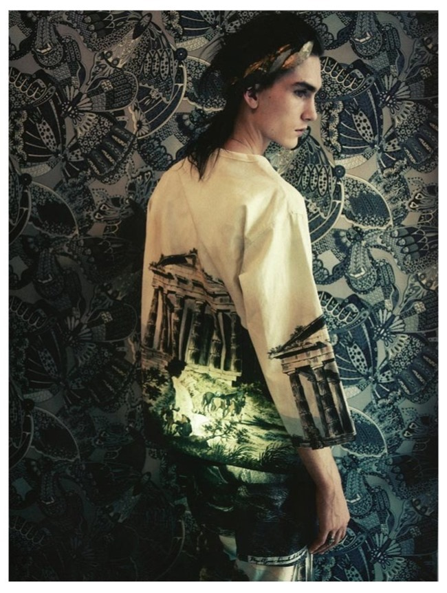 VOGUE HOMMES INTERNATIONAL Gryphon O'Shea in Exhile by Paolo Roversi. Spring 2014, www.imageamplified.com, Image Amplified (5)