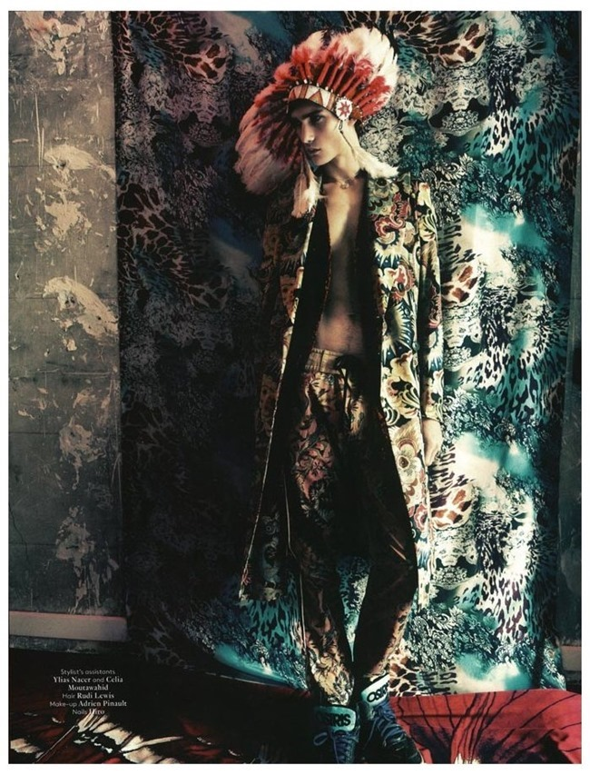 VOGUE HOMMES INTERNATIONAL Gryphon O'Shea in Exhile by Paolo Roversi. Spring 2014, www.imageamplified.com, Image Amplified (1)