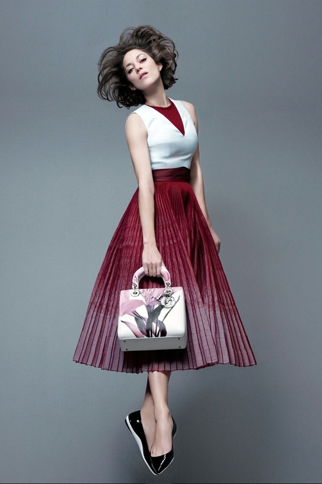 CAMPAIGN Marion Cotillard for Lady Dior Pre-Fall 2014 by Jean-Baptiste Mondino, www.imageamplified.com, Image Amplified (3)