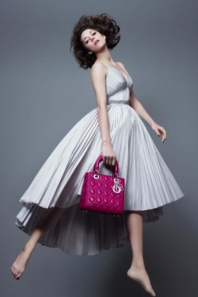 CAMPAIGN Marion Cotillard for Lady Dior Pre-Fall 2014 by Jean-Baptiste Mondino, www.imageamplified.com, Image Amplified (1)