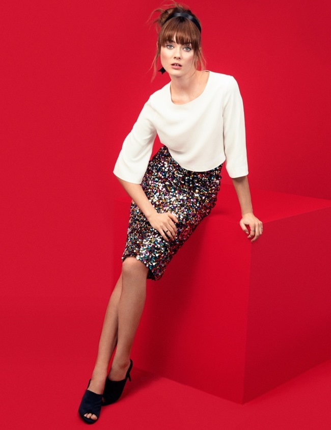 CAMPAIGN Jac Jagaciak in Gallery Girl for H&M  Spring 2014, www.imageamplified.com, Image Amplified (8)