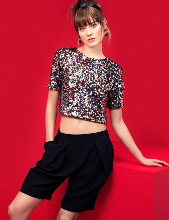 CAMPAIGN Jac Jagaciak in Gallery Girl for H&M  Spring 2014, www.imageamplified.com, Image Amplified (11)