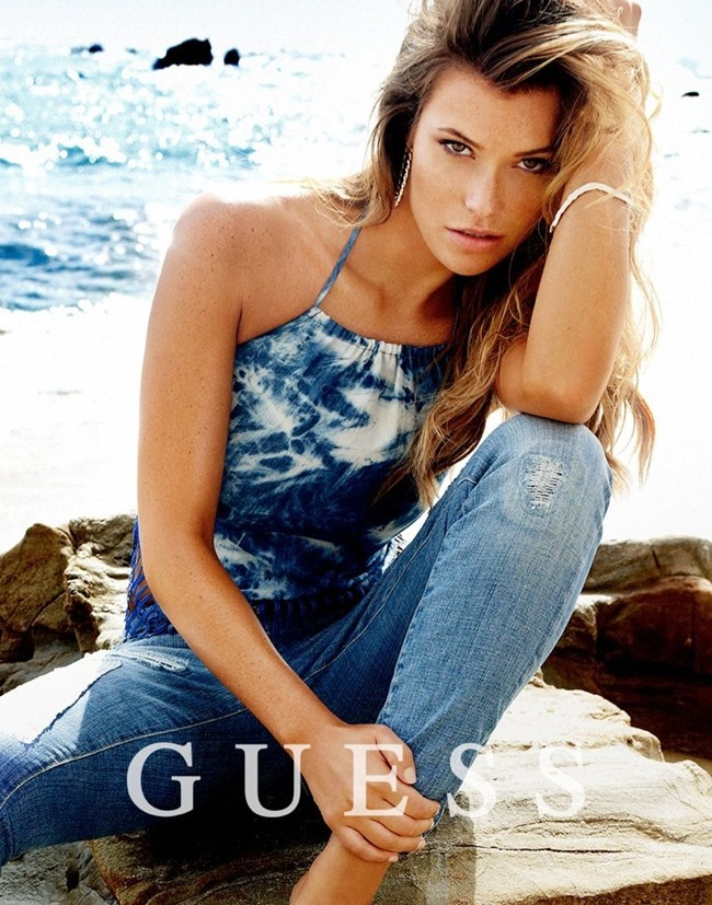 CAMPAIGN Samantha Hoopes, Danielle Knudson & Olivia Greenfield for Guess Spring 2014 by Yu Tsai. Veronique Droulez, www.imageamplified.com, Image Amplified (15)