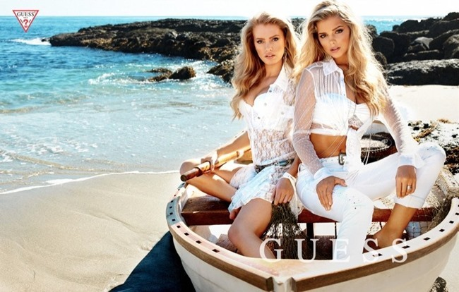 CAMPAIGN Samantha Hoopes, Danielle Knudson & Olivia Greenfield for Guess Spring 2014 by Yu Tsai. Veronique Droulez, www.imageamplified.com, Image Amplified (1)