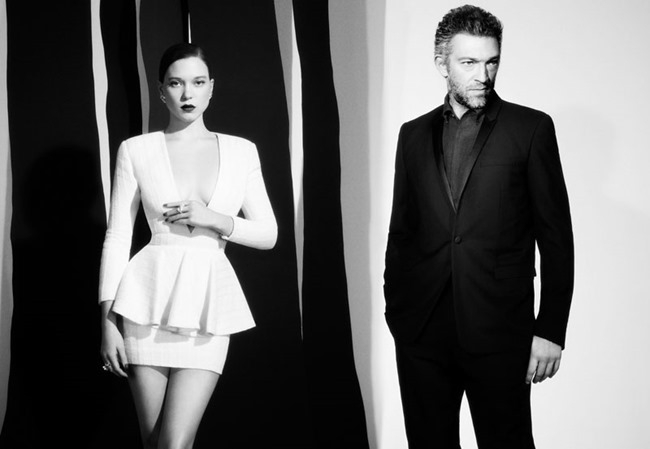 L'EXPRESS STYLES Lea Seadoux & Vincent Cassel by Luciana Val & Franco Musso. Vanessa Metz, December 2013, www.imageamplified.com, Image Amplified (5)