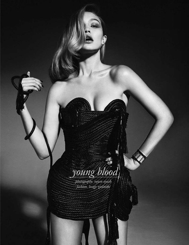 SCHON MAGAZINE Gigi Hadid in Young Blood by Rayan Ayash. Beagy Zielinski, Spring 2014, www.imageamplified.com, Image Amplified (7)