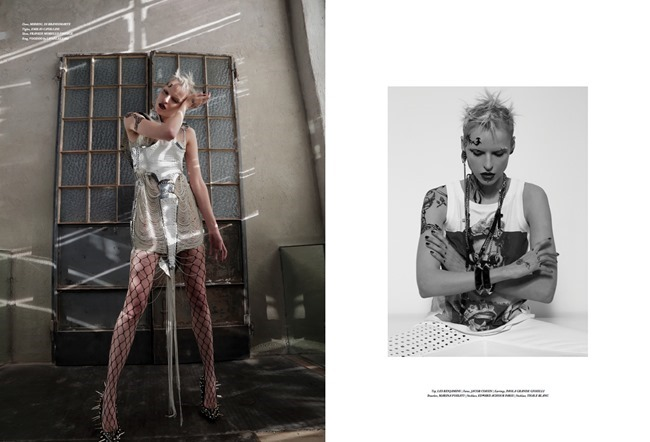 TIRADE MAGAZINE Elana Mityukova in White Punk by Marco Marezza. Luigi Gaballo, Spring 2014, www.imageamplified.com, Image Amplified (3)