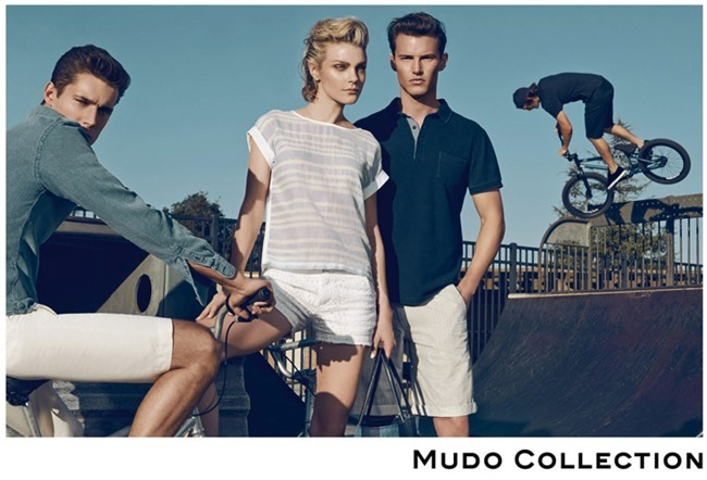 CAMPAIGN Jessica Stam, Henry Barnacle & Danny Schwarz for Mudo Spring 2014 by Koray Birand. www.imageamplified.com, Image Amplified (4)