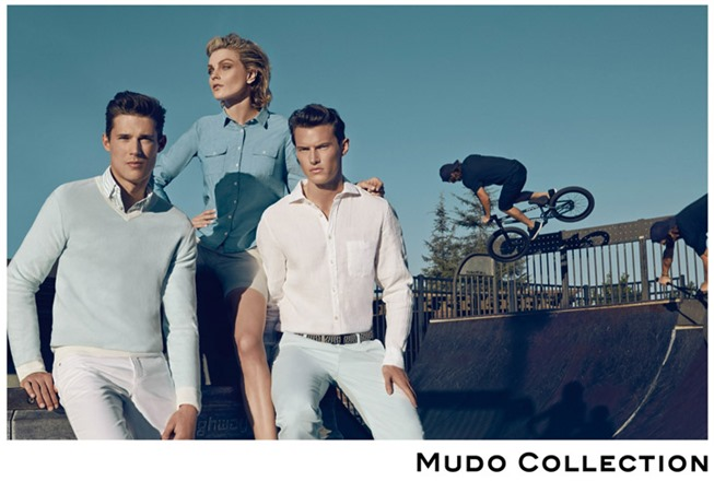 CAMPAIGN Jessica Stam, Henry Barnacle & Danny Schwarz for Mudo Spring 2014 by Koray Birand. www.imageamplified.com, Image Amplified (6)