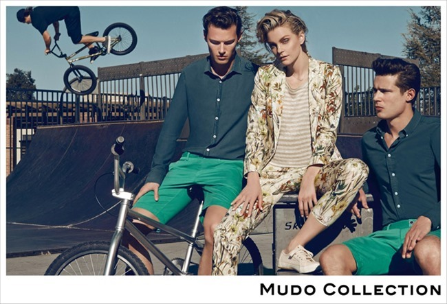 CAMPAIGN Jessica Stam, Henry Barnacle & Danny Schwarz for Mudo Spring 2014 by Koray Birand. www.imageamplified.com, Image Amplified (2)