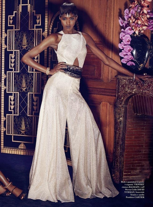 FLAIR MAGAZINE Betty Adewole & Alima Fofana in Fashion 1 by Paola Kudacki. Melanie Huynh, April 2014, www.imageamplified.com, Image amplified (5)